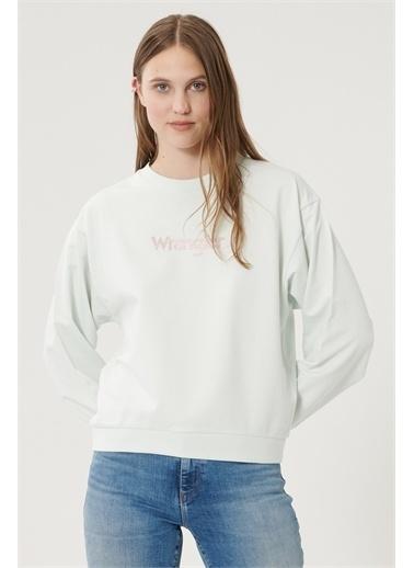 Wrangler Sweatshirt Yeşil